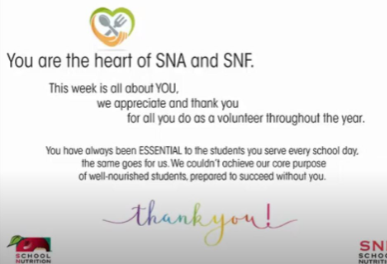 Thank you from SNA